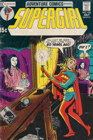 DC Comics Adventure Comics Supergirl #408