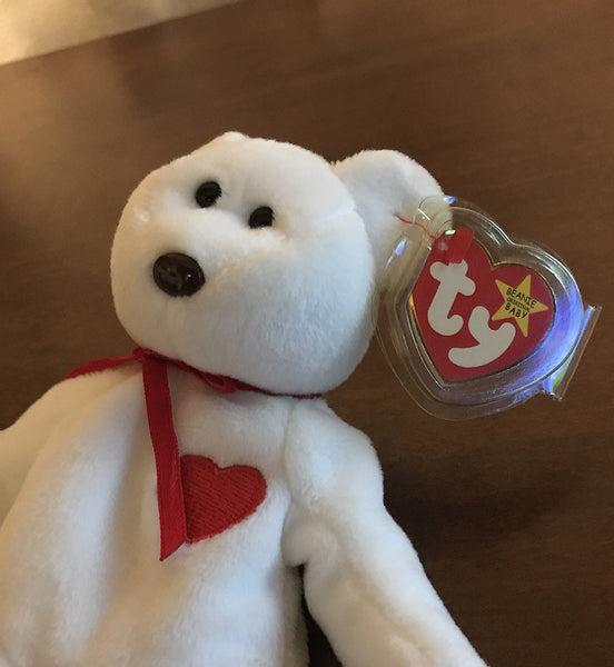 TY Beanie Baby 1993  - Valentino The Bear