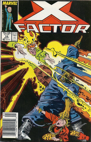 Marvel Comic X Factor # 16 May 1987