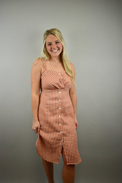 Gingham Style Dress - Lula and Mae Boutique