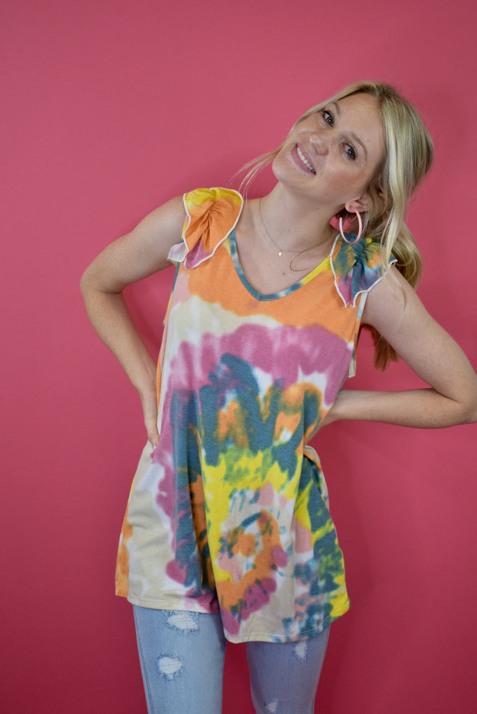 Peace & Love Top - Lula and Mae Boutique