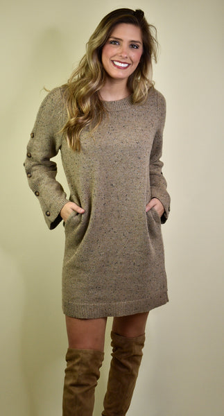All Is Well Sweater Dress