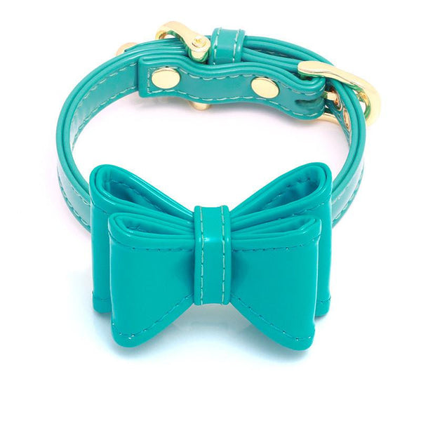 DOG COLLAR SET WITH BOW | CALIFORNIA BEACH