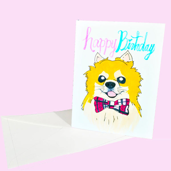 Personalized Hand-Drawn Card