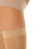 Solidea Marilyn medical compression thigh-high stocking 20/30 mmHg for lymphedema, venous Insufficiency, DVT and recovery after surgery