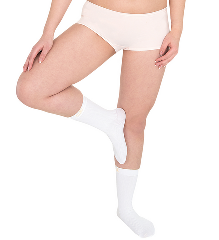 Active Massage Speedy Socks [Small/White] - Solidea Medical