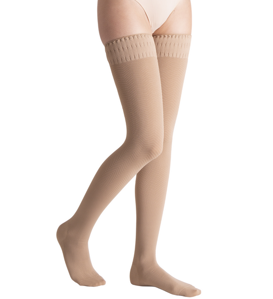 Active Massage Compression Comfort Thigh High - Solidea Medical