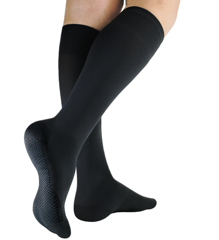 Traditional Compression Knee High Socks 25/32mmHg - Closed Toe - Solidea Medical