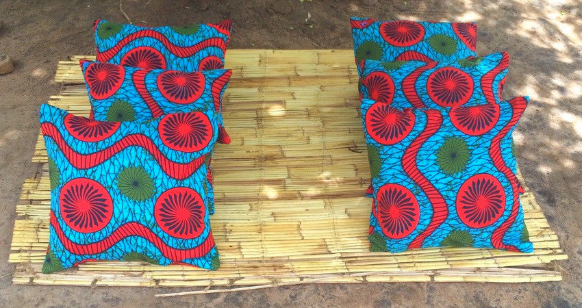 Pillow Case- African Red