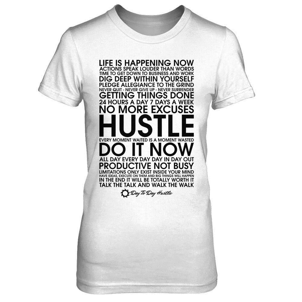 Meaning Of Hustle - Women's T Shirt