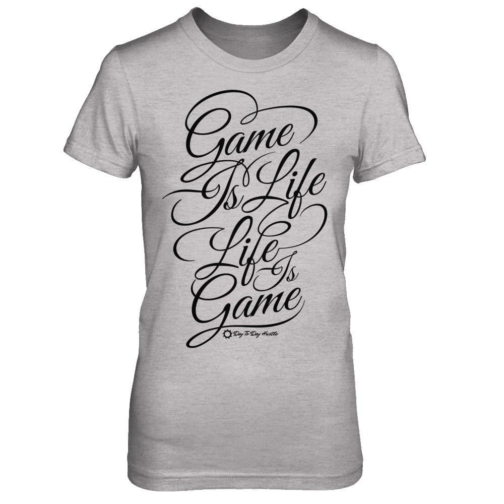 Game Is Life, Life Is Game - Women's T Shirt