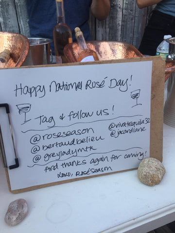 National Rosé Day Hosts