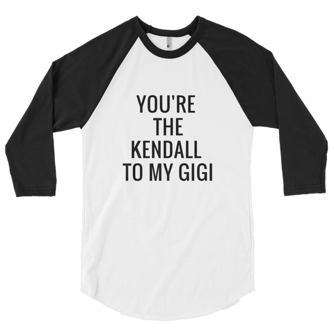 Kendall to my Gigi (Black/White) - Jac and Lane