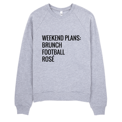 Weekend Plans Sweatshirt (Grey) - Jac and Lane