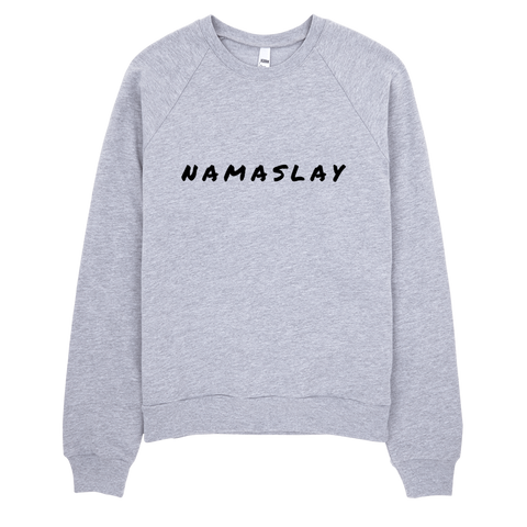 Namaslay Sweatshirt (Grey) - Jac and Lane