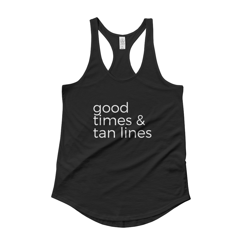Good Times & Tan Lines (Black) - Jac and Lane