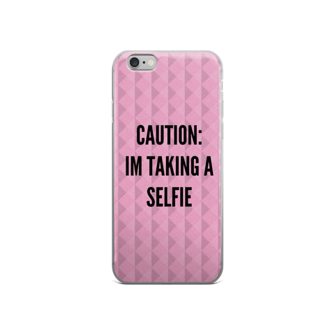 I Am Taking A Selfie iPhone 6/6s Case - Jac and Lane
