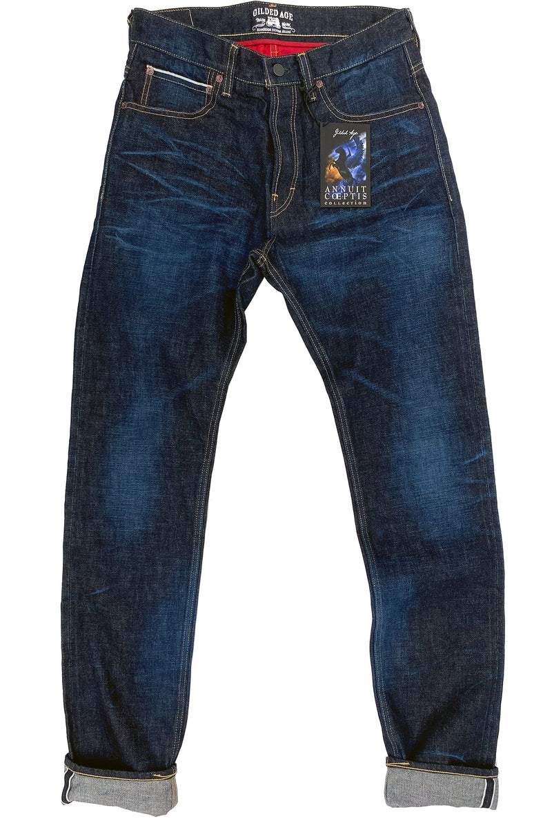 1011 Baxten Jean Resinated Raw Worked TOYO