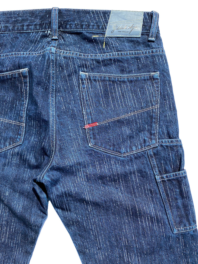 1012 Carpenter Jean Laser Stripe Selvage