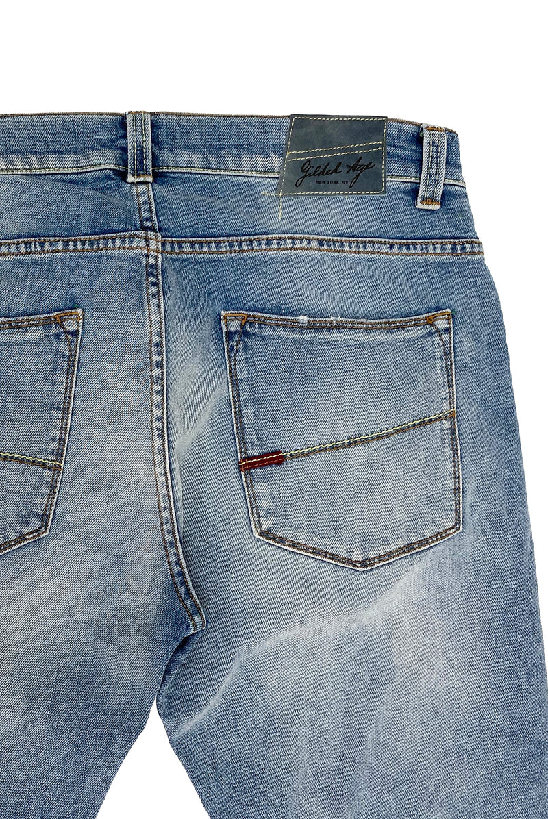 1025 Morrison Jean Sun Drenched Light Wash