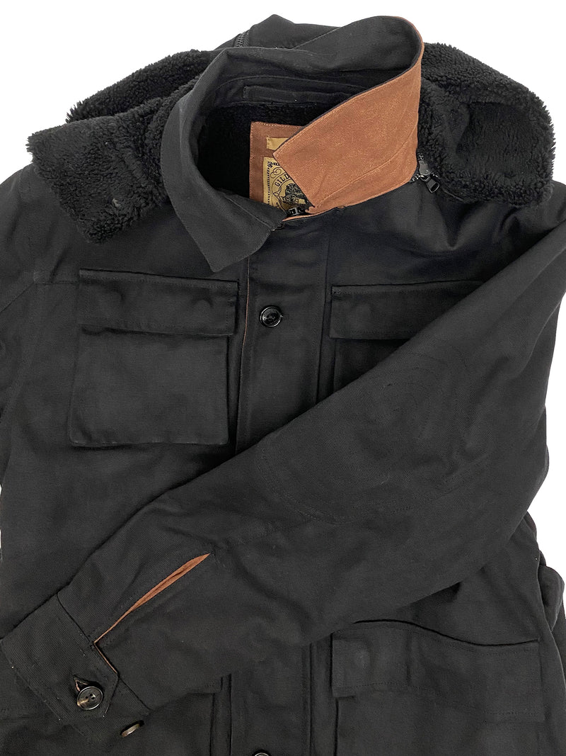 4240 Thoreau Black Waxed Canvas Jacket