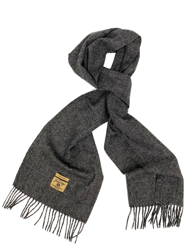 7150 Prince of Wales Wool Scarf