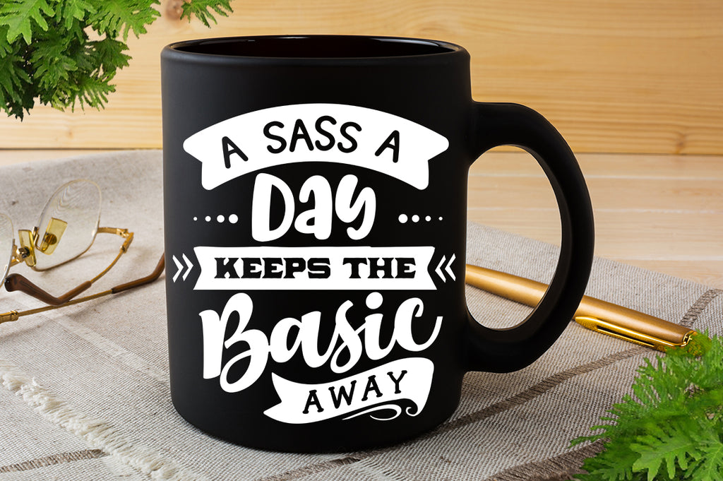 A sass a day keeps the basic away SVG