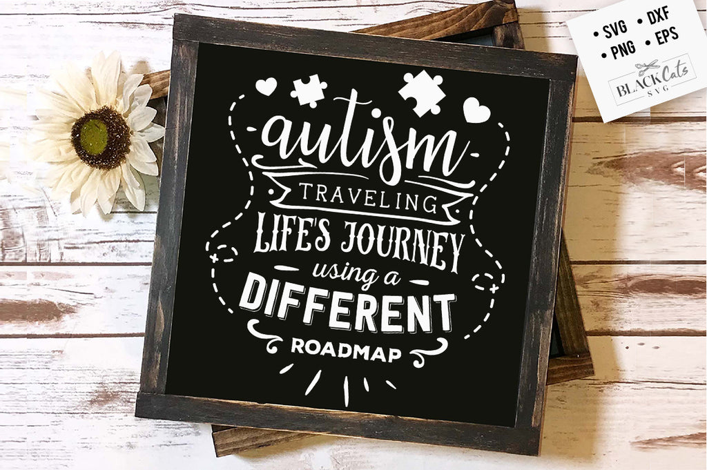 Autism - different roadmap SVG