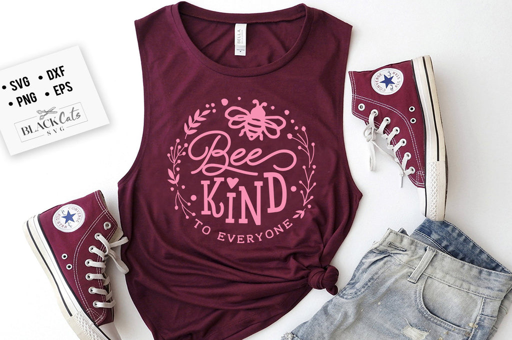 Bee kind to everyone SVG