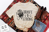 Brave & Strong SVG