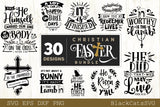 Christian Easter Bundle SVG 30 designs