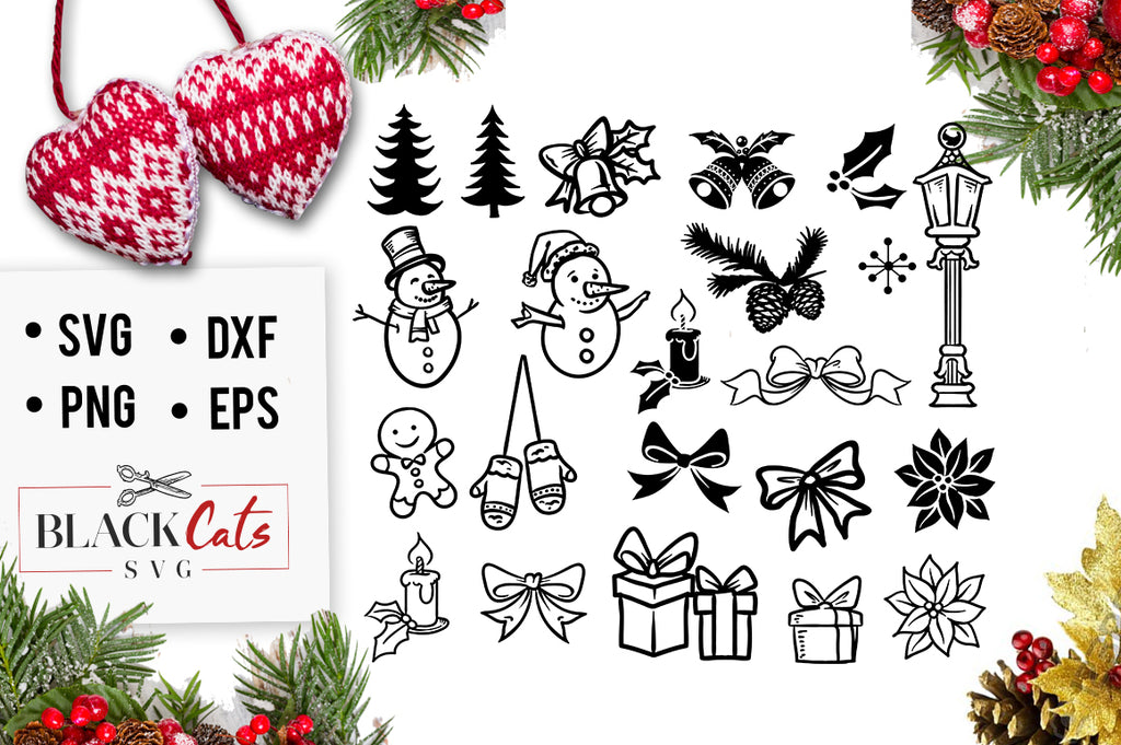 Christmas SVG pack cutting files