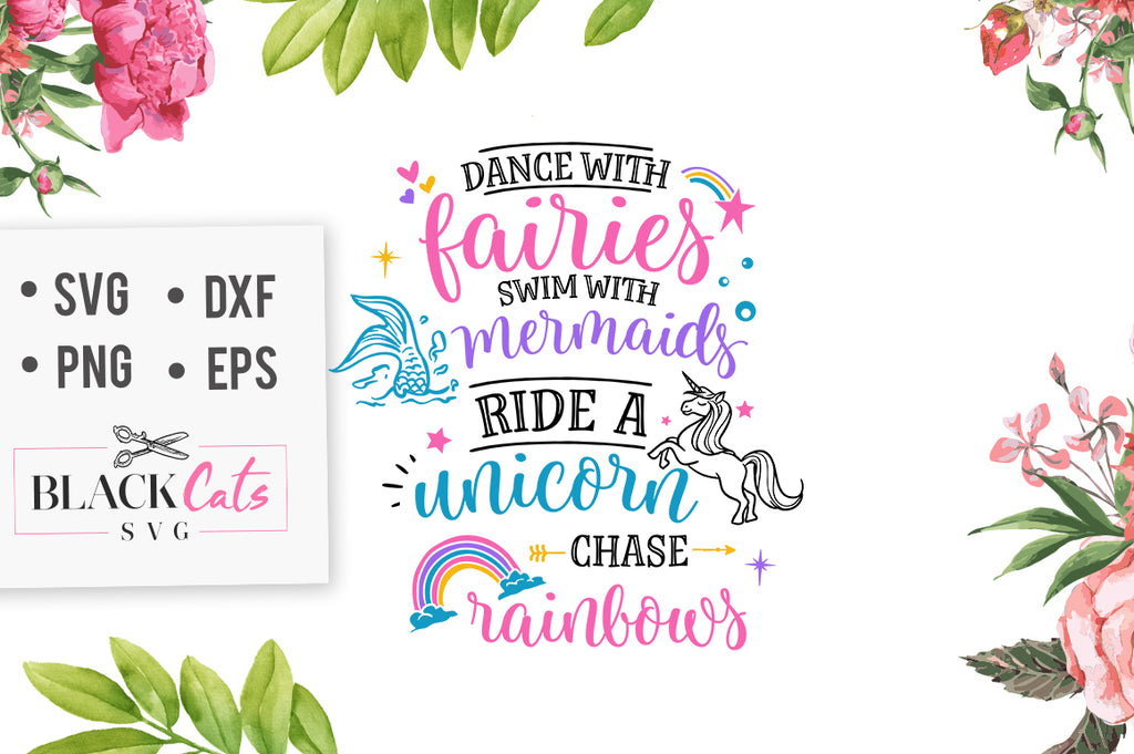 Dance with Fairies SVG File
