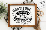 Gratitude Changes Everything SVG File