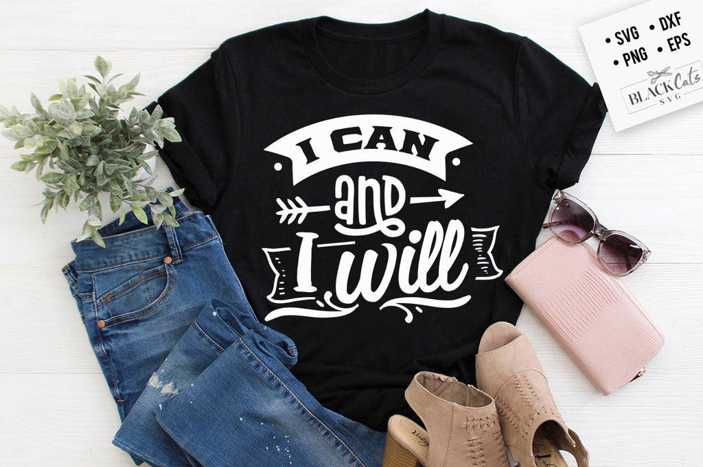 I can & I will SVG
