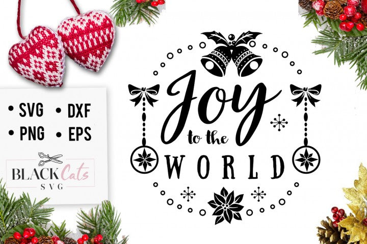 Joy to the world - SVG