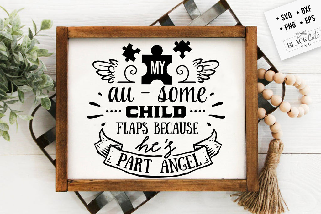 Part angel SVG