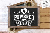Powered by autism SVG