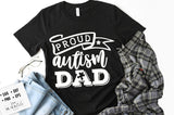 Proud autism dad SVG
