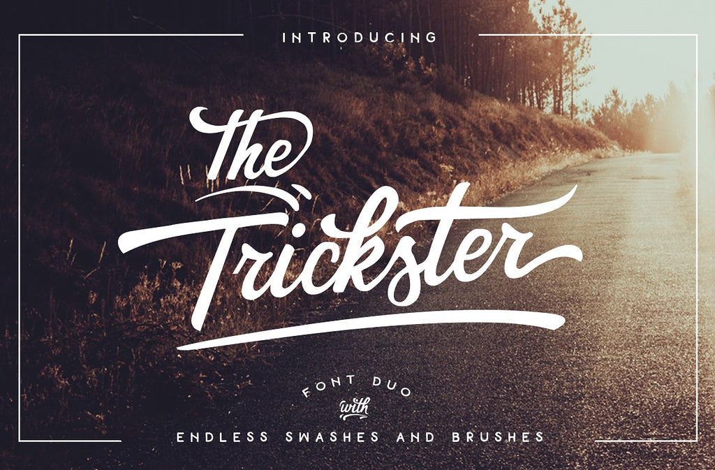 The Trickster Font Duo + extras