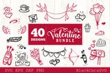 Valentines Day SVG bundle 40 designs