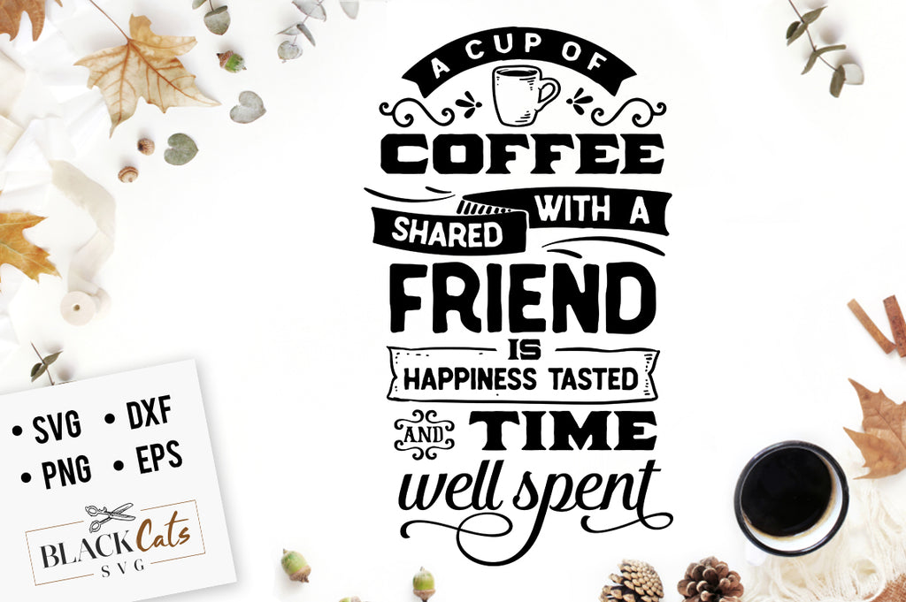 A Cup of Coffee Shared SVG File