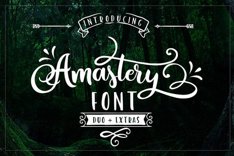Amastery Font DUO and extras