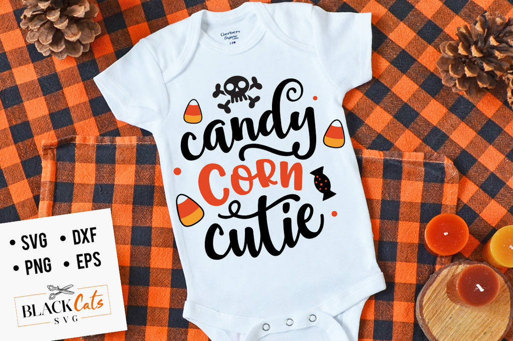 Candy Corn Cutie SVG File