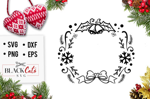 Christmas Wreath SVG