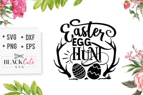 Easter egg hunt SVG file Cutting File Clipart in Svg, Eps, Dxf, Png for Cricut & Silhouette