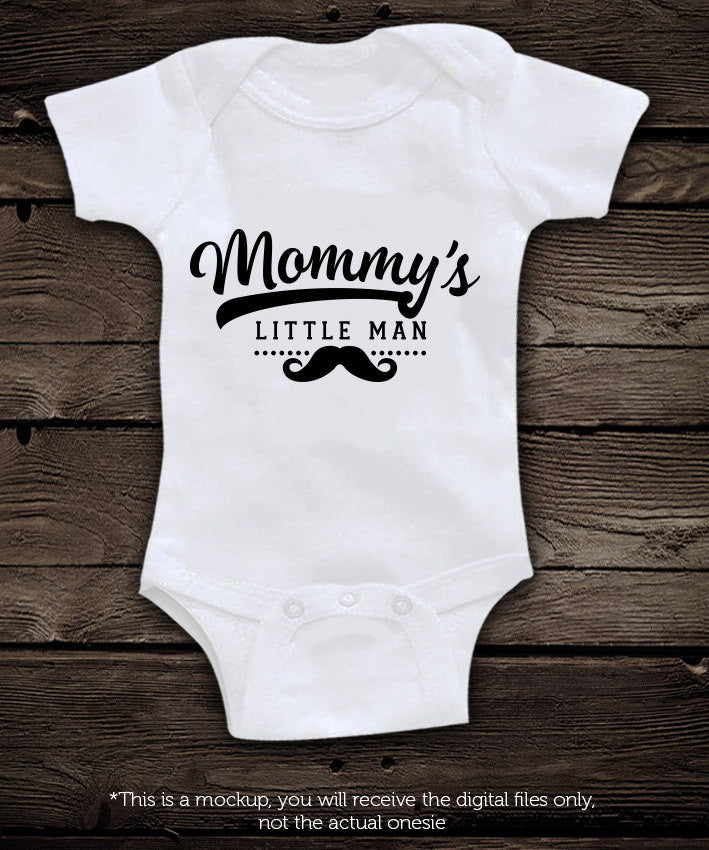 Mommy S Little Man Svg File Cutting File Clipart In Svg Eps Dxf Png Blackcatssvg
