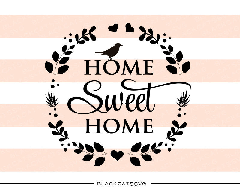 home sweet home svg file cutting file clipart in svg Computer Files and Folders file folder clip art black and white