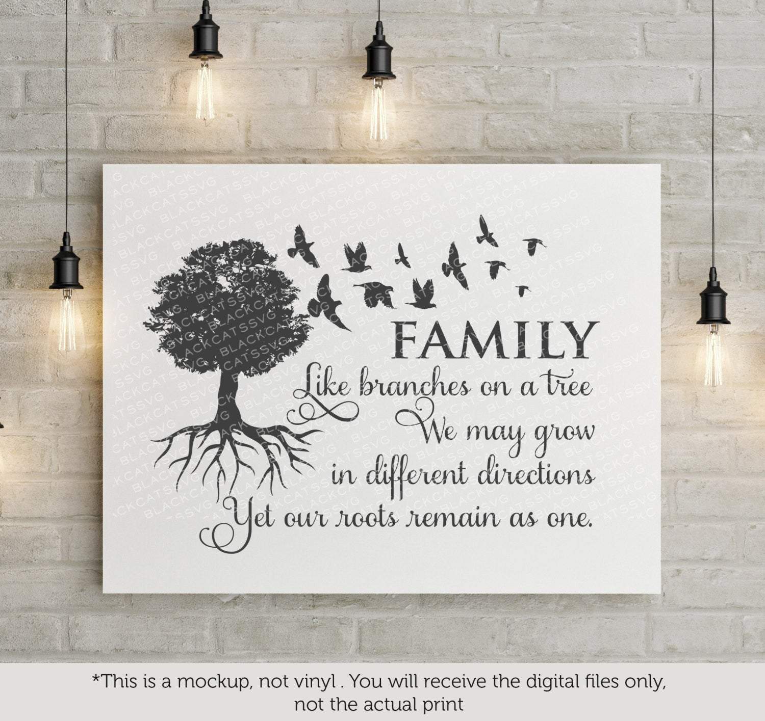 Family tree - SVG file Cutting File Clipart in Svg, Eps, Dxf, Png for  Cricut & Silhouette