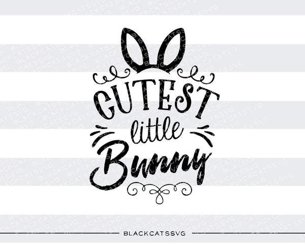 Cutest Little Bunny Colored Svg Boy And Girl File